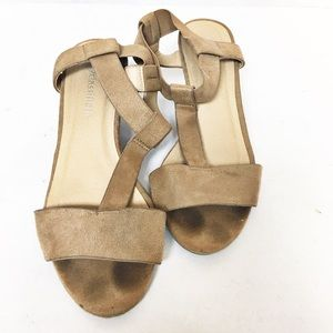 City classified Wedge sandals